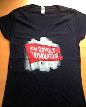 Photo: T-shirt personnalisé NPA REVOLUTION Sérigraphie Trame : T-shirt personnalisé NPA REVOLUTION Sérigraphie Trame