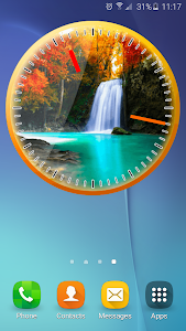 Autumn Analog Clock screenshot 3