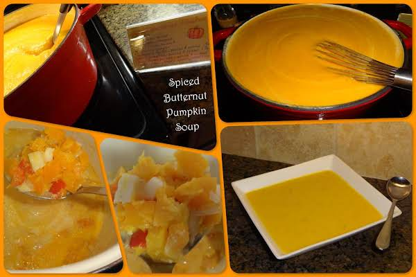 Spiced Butternut-pumpkin Soup Recipe