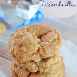 Drunken Snickerdoodle Cookies