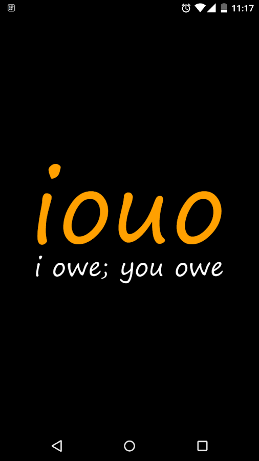 iouo - I owe; you owe- screenshot