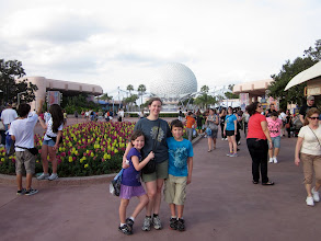 Photo: A picture with Mom before heading for more rides