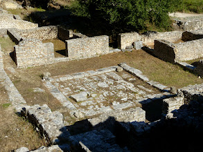 Photo: Butrint - Atrium of a Roman Villa