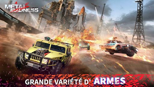 METAL MADNESS PvP: action d'arène de tir en ligne  screenshots 1