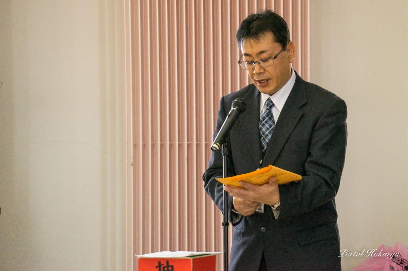 きたそらち農業協同組合金融共済北竜支所金融共済課・太田久志 課長