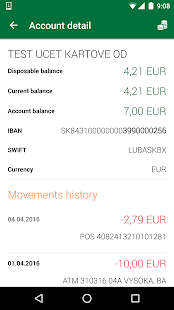 Sberbank SmartBanking- screenshot thumbnail