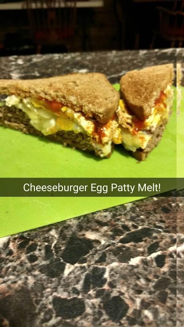 Toasted Fried Egg Patty Melt Recipe