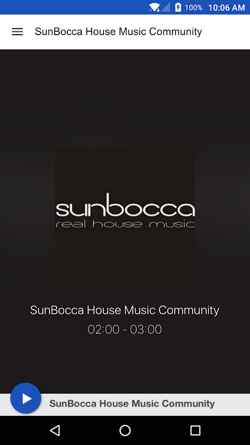 SunBocca House Music Community- screenshot