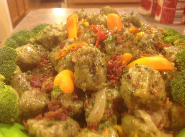 Spinach Potato Dumplings Medely Recipe
