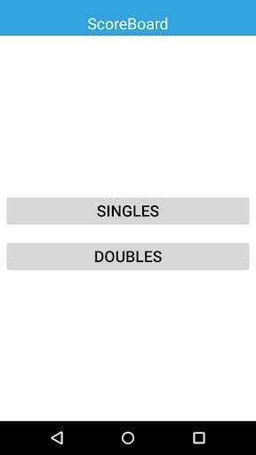 Table Tennis Scoreboard
