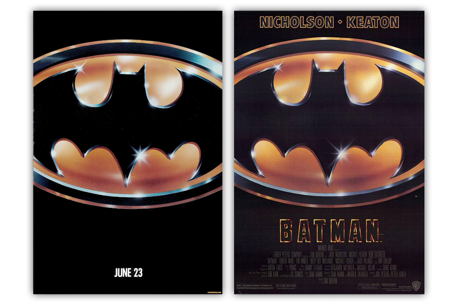 The Graphic Design And Visual Ephemera Of Batman 89