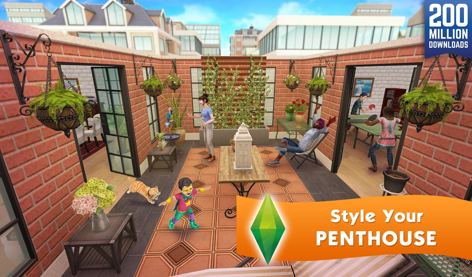 Screenshots of The Sims™ FreePlay for iPhone