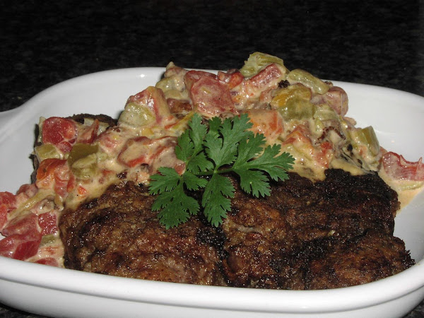 Country-fried Steak With Creamy Salsa Gravy Recipe