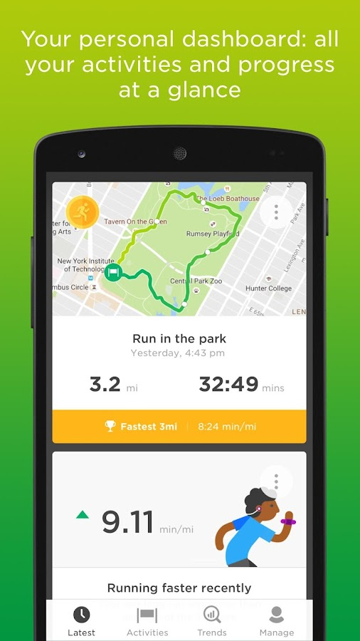 TomTom Sports- screenshot