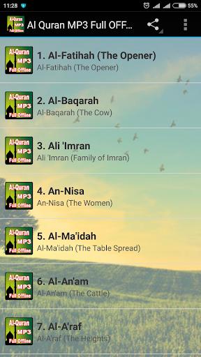 Al Quran MP3 Full Offline 2.2 screenshots 1