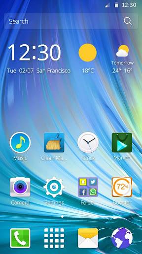 Samsung Galaxy A三星のテーマ