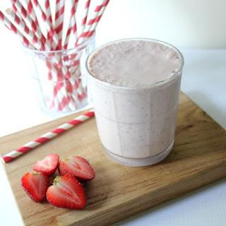Strawberry Cheesecake Smoothie.