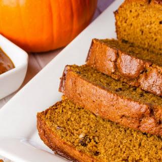 Ginger Pecan Pumpkin Loaf