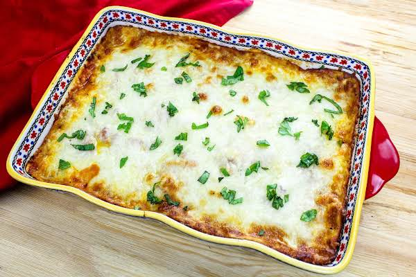 Light (baked Not Fried) Eggplant Parmesan Recipe