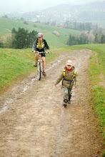 Photo: rowerzyści też wybrali się na szlak