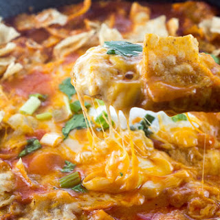 Easy Chicken Enchilada Skillet Dinner