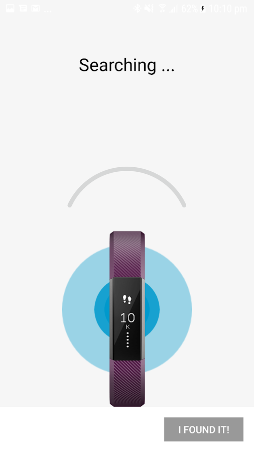 Finder for Fitbit- screenshot