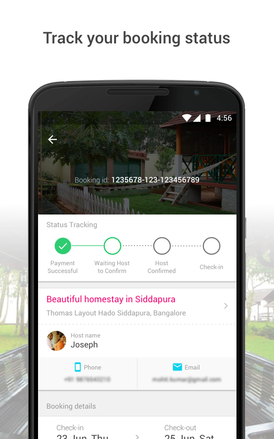 Book Homestay, Hotels & Villas- screenshot
