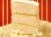 This Is A Very Moist White Cake With Delicious Flavors.  It Makes A Beautiful Cake For Serving.