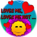 Loves me ... loves me not icon