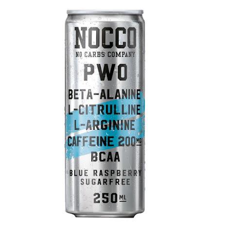 NOCCO BCAA PWO 250ml - Blue Raspberry