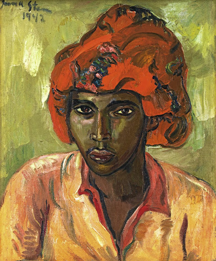 Irma Stern's Young Arab. Picture: STRAUSS & CO
