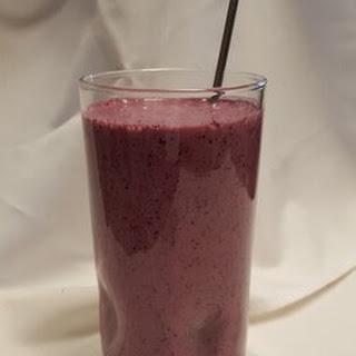 Wild Blueberry Immune Boosting Smoothie