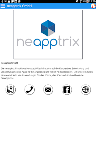 Neustadt App- screenshot thumbnail