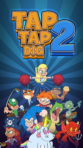Tap Tap Dig 2: Idle Mine Sim apkmartins screenshots 1