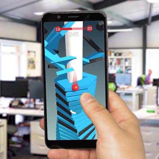 Télécharger Gratuit Vintex Ball-Blast through one click APK MOD (Astuce) screenshots 3