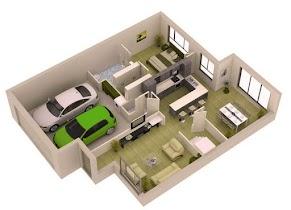 3D Home Layout Design - screenshot thumbnail 07