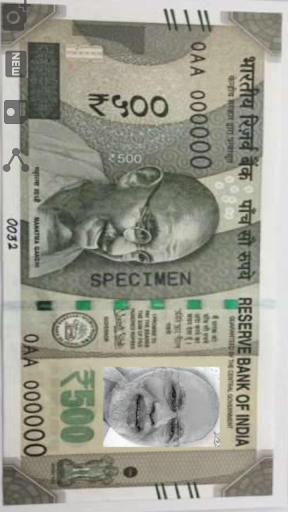 Indian Rupee Photo Frame 1.4 screenshots 3