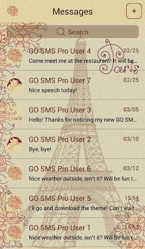 GO短信加强版巴黎