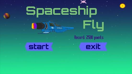 SpaceshipFly - náhled