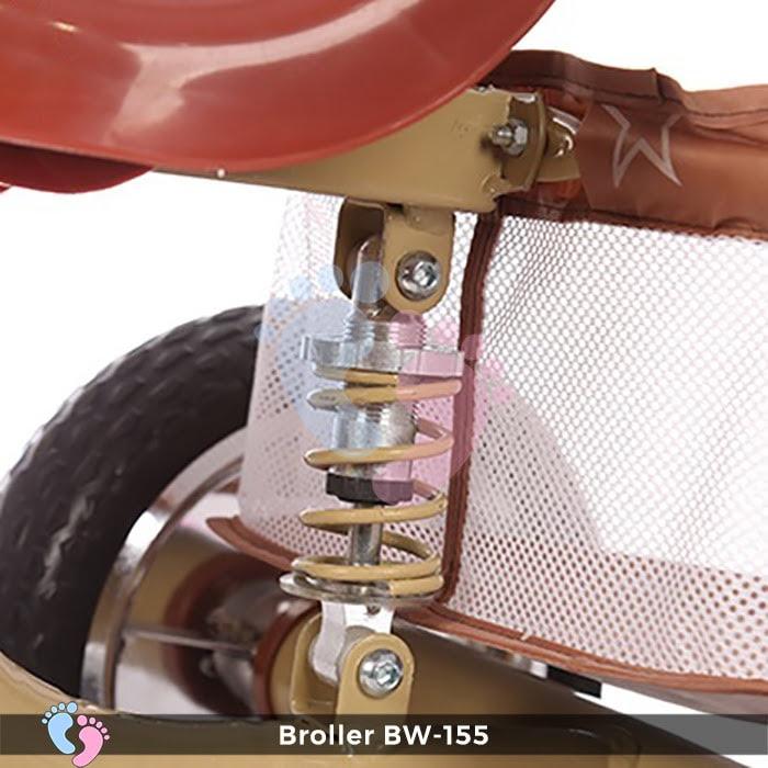 Xe đạp 3 bánh cho bé Broller XD3-155 11