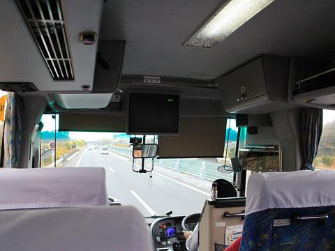 西鉄高速バス「フェニックス号」 9909 宮崎自動車道走行中
