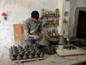Photo: First Stop - the Pottery Factory