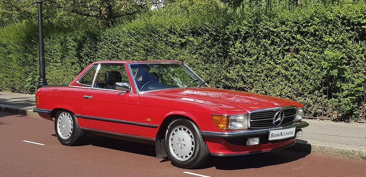 Mercedes-benz 300sl R107 Hire London