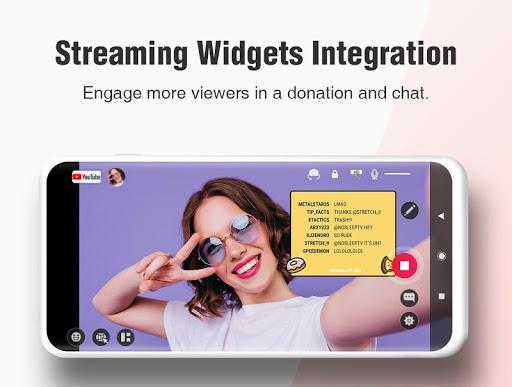 CameraFi Live - YouTube, Facebook, Twitch and Game screenshot 11
