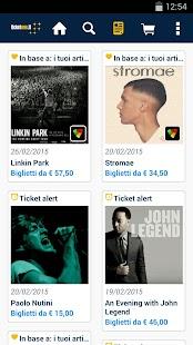 TicketOne.it - screenshot thumbnail