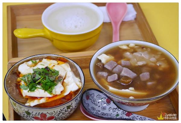 良美豆花(苗栗卓蘭)-非基改豆花+純手工配料~還有特色的柴燒麵線加豆花!