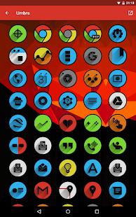 Umbra - Icon Pack Screenshot 12