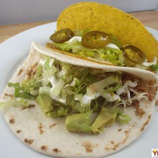Ground Turkey Tacos.