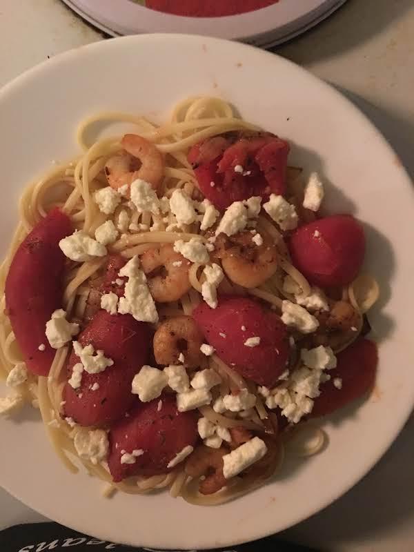 Quick/easy Shrimp With Linguini Recipe
