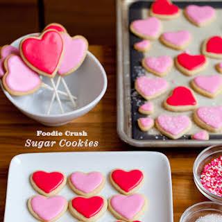Almond Flavor Sugar Cookies.